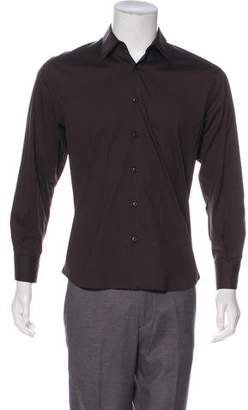 Prada Long Sleeve Button-Up Shirt