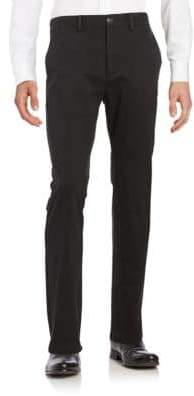 Black & Brown Classic-Fit Chino Pants