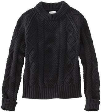 L.L. Bean L.L.Bean Signature Cotton Fisherman Sweater