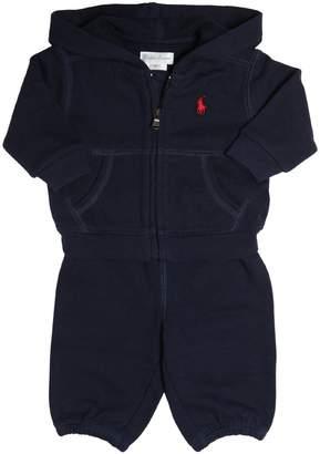 Ralph Lauren Cotton Sweatshirt & Jogging Pants