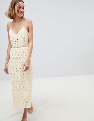 BA&SH Crochet Cami Dress