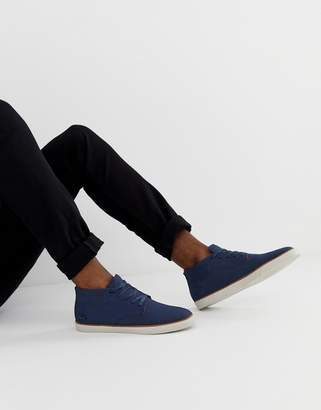 Lacoste Esparre winter c 318 3 chukka boots in navy