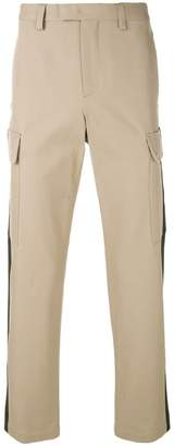 MSGM side stripe trousers