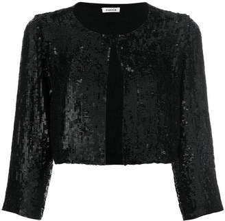P.A.R.O.S.H. sequin cropped jacket