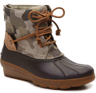 Sperry Saltwater Tide Wedge Duck Boot - Women's