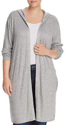 Andrew Marc Plus MX8 Performance Hooded Duster Cardigan