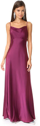 Diane von Furstenberg Sleeveless Cowl Neck Gown