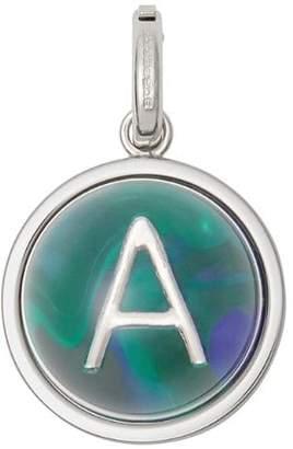 Burberry Marbled Resin 'A' Alphabet Charm