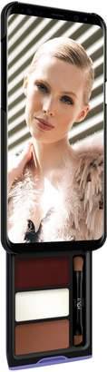 Samsung Pout Case - Utterly Cherry Mocha Kit Phone Makeup Case For S8 Plus Black & Purple Case