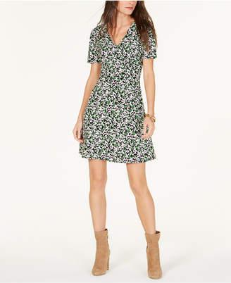 Michael Kors Printed A-Line Dress