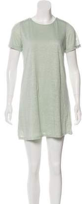 Alice + Olivia Linen Mini Dress