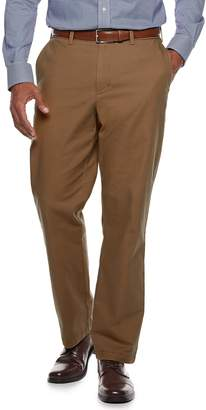 Croft & Barrow Men's Classic-Fit Flannel-Lined Canvas Chino Pants