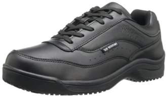 Skidbuster 5070 Men's Leather Slip Resistant Athletic Shoe