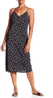 Vince Floral Silk Dress