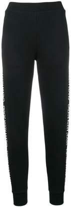 Calvin Klein Jeans logo stripe track pants