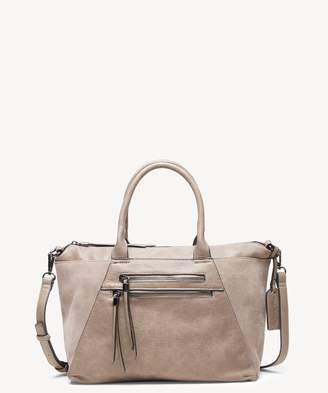 Sole Society Chele Tote Genuine Suede Mix Tote