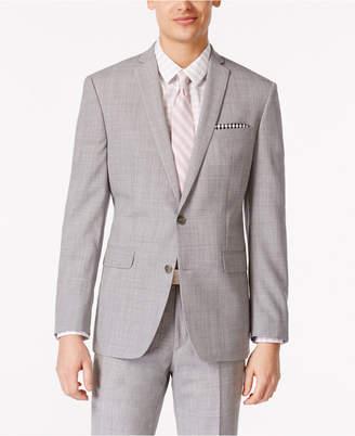 Bar III Men's Light Gray Slim Fit Jacket, Created for Macy's