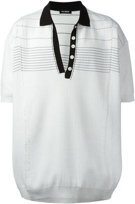 Raf Simons oversized polo shirt $1,807 thestylecure.com