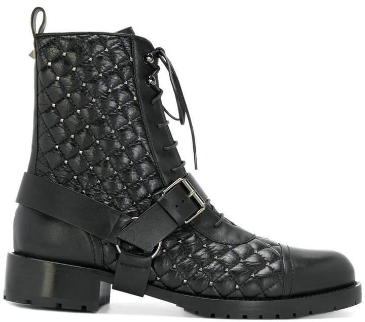 Valentino Garavani Rockstud combat boots