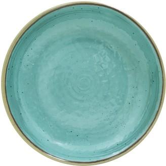 Food Network Aqua Melamine Serving Platter
