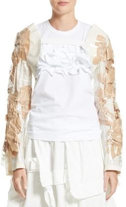 Women's Comme Des Garcons Pvc & Paper Bolero Jacket $682 thestylecure.com