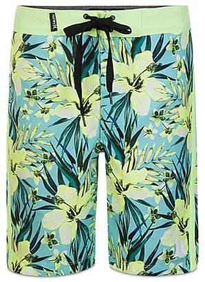 Hurley Boys' Tropical Garden Print Board Shorts - Big Kid