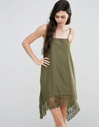 Vero Moda Cami Dress with Lace Hem