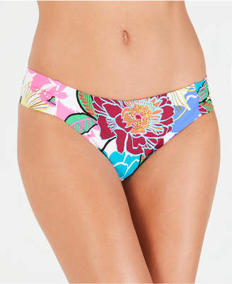 Trina Turk Radiant Blooms Printed Bikini Bottoms Women's Swimsuit