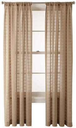JCPenney JCP HOME HomeTM Alexander Rod-Pocket Sheer Panel