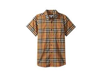 Burberry Fred Pocket Short Sleeve Top (Little Kids/Big Kids)