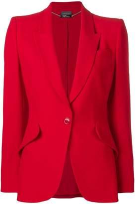 Alexander McQueen slim fit blazer