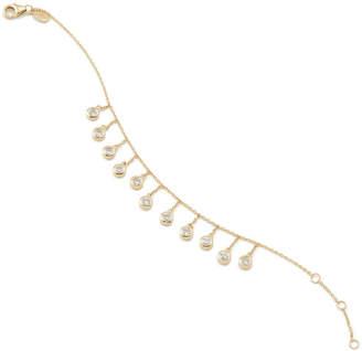 Bond Eye Bondeye Jewelry Droplet White Sapphire Bracelet