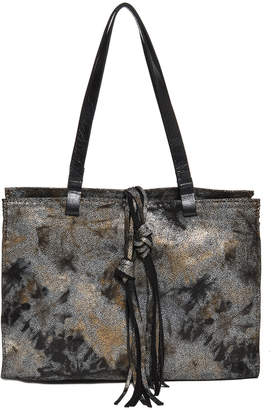Carla Mancini Woven Leather Tote