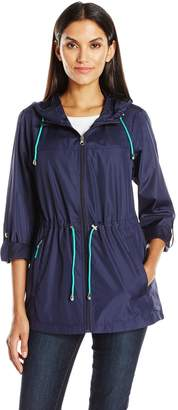 Details Women's Lightweight Packable Anorak Parka in a Pocket