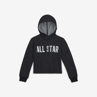 Converse Big Kids' (Girls') Cropped Hoodie