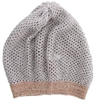 Missoni Silk-Blend Knitted Beanie