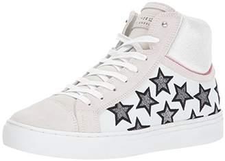 Skechers Street Women's Side Street-Glitter Star High Top Fashion Sneaker
