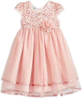 Marmellata Empire Waist Mesh Dress, Toddler & Little Girls (2T-6X) $74 thestylecure.com