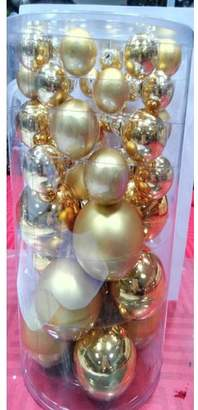 The Holiday Aisle 40 Piece Glass Christmas Ball Ornament