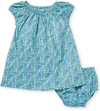 Elephantito Peasant Dress & Bloomers Set