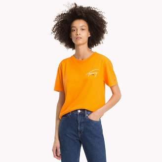 Tommy Hilfiger Signature Crew Neck T-Shirt