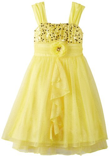 My Michelle Girls 7-16 Mid Ruffle Dress