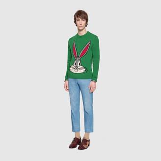 Gucci Bugs Bunny wool knit sweater