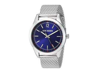 Steve Madden Dial Mesh Band Watch Watches