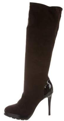 Walter Steiger Suede Pointed-Toe Boots
