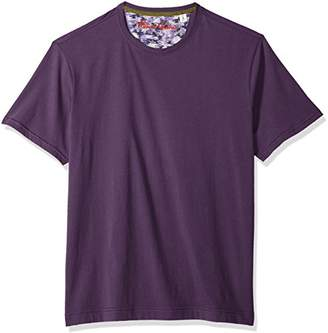 Robert Graham Men's NEO Short Sleeve Crewneck T-Shirt