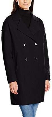 Tommy Hilfiger Women's RIDER BOILED WOOL COAT Reefer Coat,(Manufacturer Size: L)