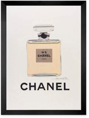 Fairchild Paris Light Tan Chanel No. 5 Ad Print Wall Art