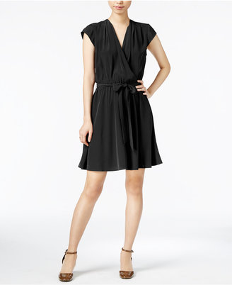 Maison Jules Belted Fit & Flare Dress, Created for Macy's $79.50 thestylecure.com