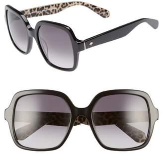 Kate Spade Katelee 54mm Sunglasses